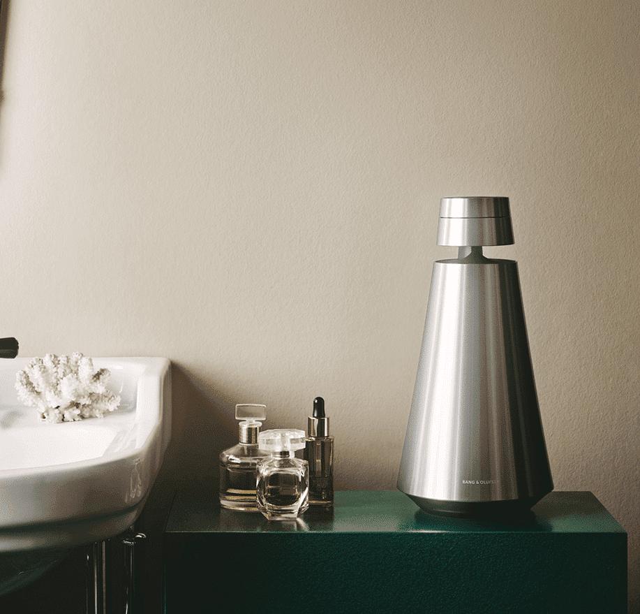 Beosound 1 i badeværelse