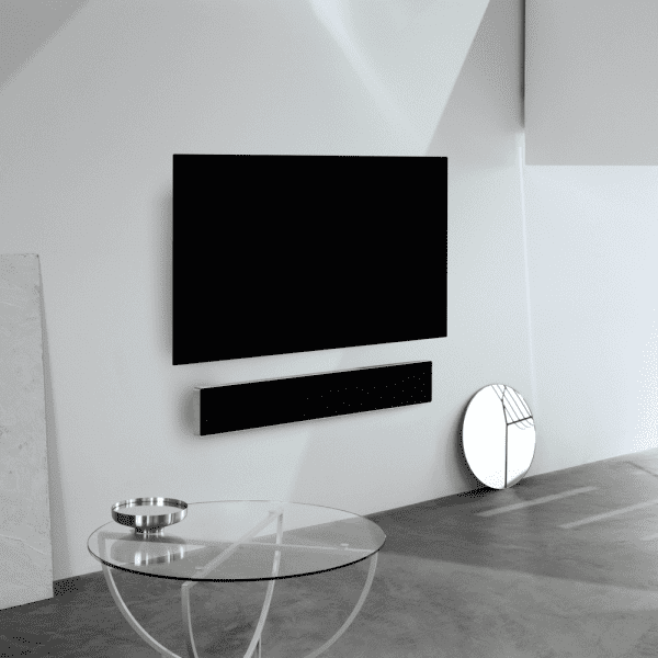 B&O Sound bar med LG OLED TV